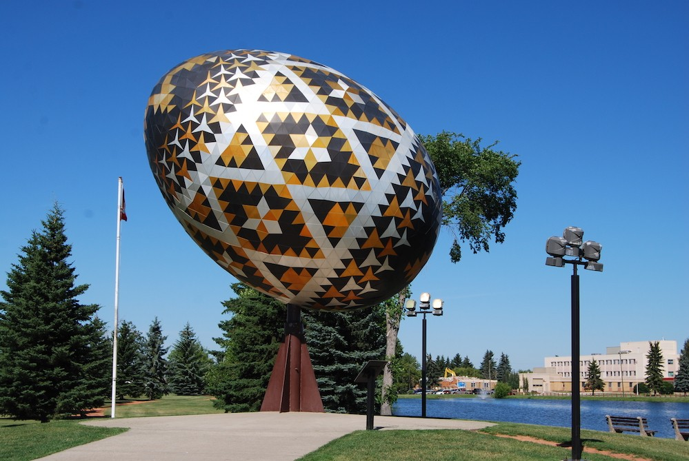 The tallest chocolate Easter egg in the world